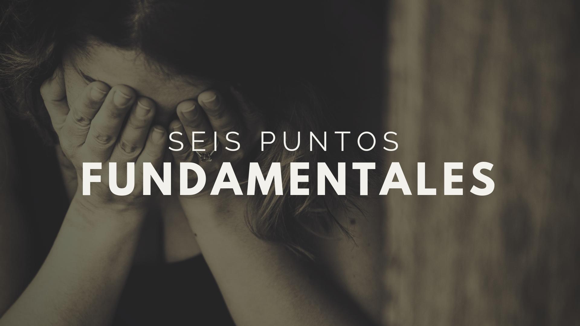 seis puntos fundamentales sobre dolor